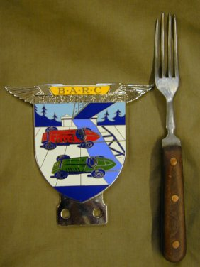 Badge & fork