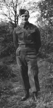Denis Gray in uniform